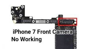 How to Fix iPhone 7 Front Camera Not Working | Motherboard Repair - YouTube