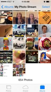 What's the Difference Between My Photo Stream and Camera Roll?