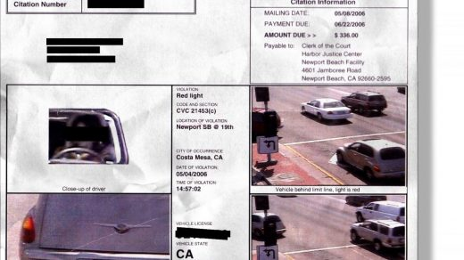 How Long Does it Take for a Red Light Ticket to Come in the Mail?