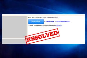 How to Fix Omegle Error with Camera in 2021 [Complete Guide]