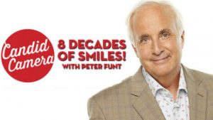 Smile! – Candid Camera and Host Peter Funt   Tucson Comedy