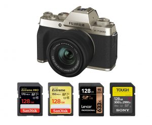 Best Memory Card for Fujifilm X-T200 – Accessories Tested