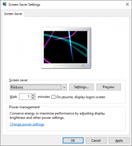Windows 7 Screensaver and Power Options Not Working?