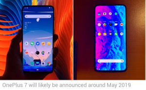 OnePlus 7 Purported Photos Surface Online, Hint at Pop-Up Selfie Camera –  CrazyMindShare