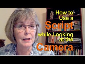How to Use a Script while Looking at the Camera - YouTube