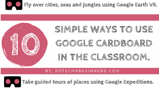 10 Simple Ways To Use Google Cardboard In The Classroom. – EDTECH 4  BEGINNERS