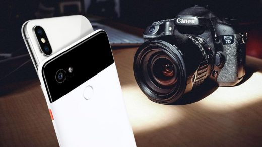 Why iPhone and Smartphone Cameras Still Lag Behind DSLRs
