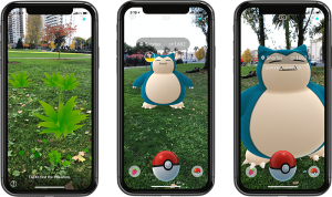 Pokémon GO gets a new and improved augmented reality mode (but only on iOS)  | TechCrunch