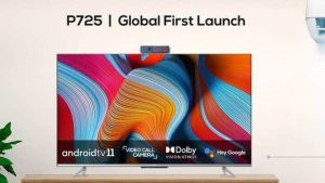 TCL launches Android 11 TVs with video call camera   Technology News –  India TV