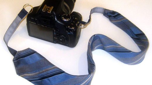 Turn an Unwanted Tie into a Camera Strap   PetaPixel
