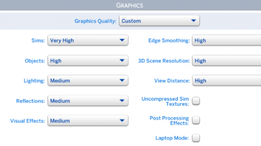 What Graphics Do You Play On? — The Sims Forums