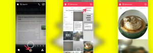 How To Upload Pictures To Snapchat From Camera Roll - Windowslovers.com