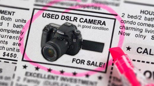 Buying a Used DSLR Camera? 3 Things You Have to Look Out For
