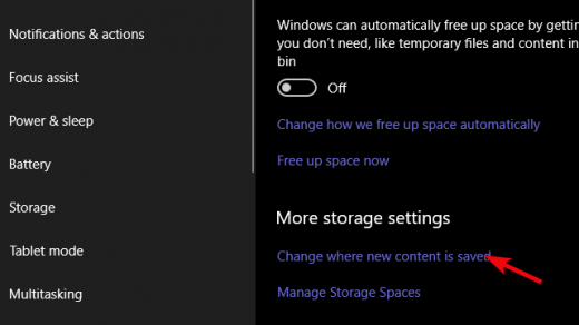 How to change the save location for Windows 10 Camera app
