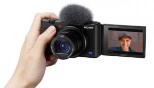 Sony's ZV-1 compact camera zooms in on vloggers   TechCrunch