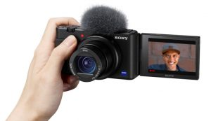 Sony's ZV-1 compact camera zooms in on vloggers | TechCrunch