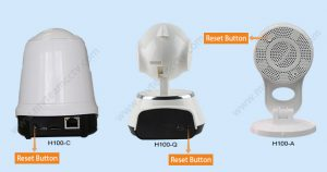 How to reset/restore factory settings of WIFI camera? – Mvteam cctv
