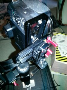 My camera has an off-center tripod mount and I can't balance it on my  gimbal – CAME-TV Blog