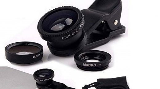 3in1 Mobile Camera Photo Lens; Fisheye Lens; Wide Angle; Macro Lens with  Clip Holder for iPhone; All Smartphone. – A to Z Shoppers