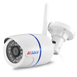 White BESDER Wifi/Wired/SD Card IP Camera with 720P/960P/1080P sensors and  ONVIF P2P CCTV support - Mr-Gadget.store - live comfy!