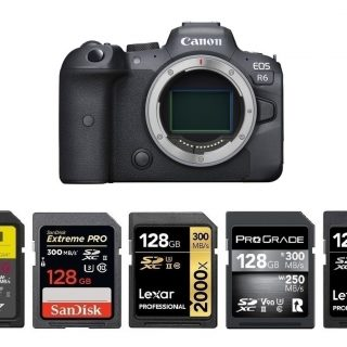 Best Memory Cards for Canon EOS R6   Canon Camera Rumors