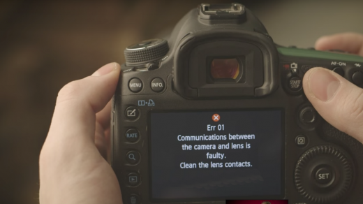 The Most Common DSLR Errors and Solutions | Onsitego Blog