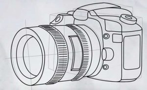 How to Draw a Camera: Easy, Step by Step, Polaroid