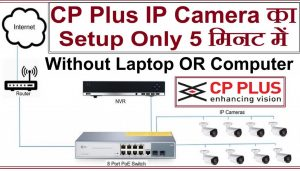 CP Plus IP Camera Setup Step By Step In Hindi, How to Install IP Camera