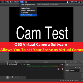 How to Setup and Use OBS Virtual Camera in Windows/Mac
