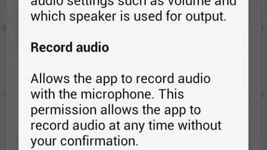 The Chrome mobile app asks for permission to audio/video record 'at any  time, without your confirmation' | pdpEcho