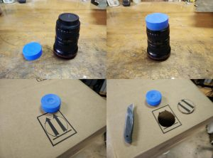 Camera Obscura - making a simple pinhole camera with a cardboard box.   Tim  Nummy Photography