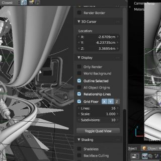 Using a 3D View to preview scenes - Sinestesia