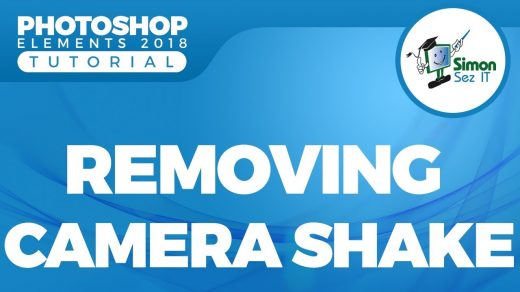 How to fix blurry photos induces by camera-shake in Photoshop