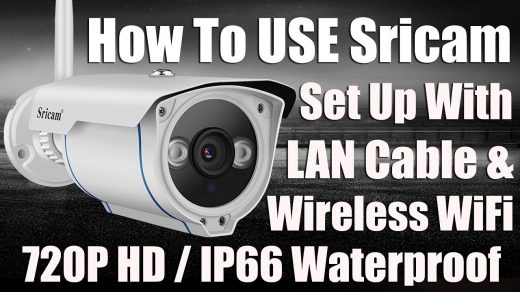 How to Setup the Sricam SP017 Security Camera - Step By Step - TechBroll