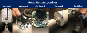 How to reset an IP Camera: Instructions for 30 different manufacturers —  SecurityCamCenter.com