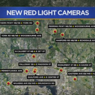 11 New Red-Light Cameras Activated In Baltimore – CBS Baltimore