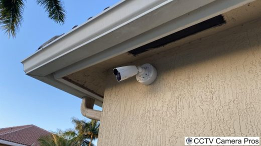 Outdoor Junction Box for Security Camera Installation