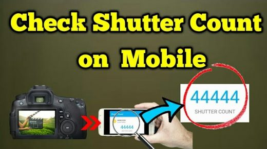 How to Check DSLR Camera Shutter Count on Mobile Phone   How to Check Nikon/Sony  Camera ShutterCount - YouTube