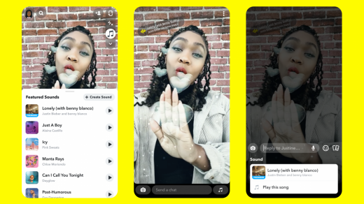 Snapchat Launches Sounds: How to Add Songs to Snaps, Stories - Variety