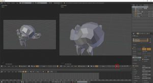 Blender – assign different cameras to different view-ports – Oded Erell's  CG Log