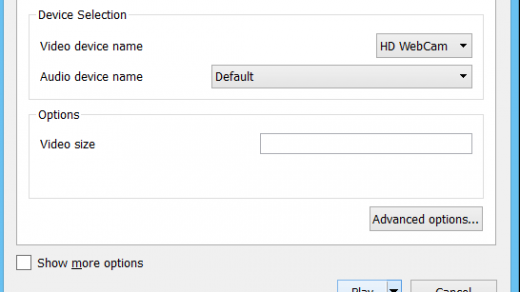 How to Record Webcam Video using VLC Media Player