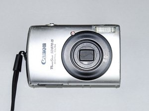 SOLVED: Lens error, restart camera - means what? - Canon PowerShot SD870 IS  - iFixit