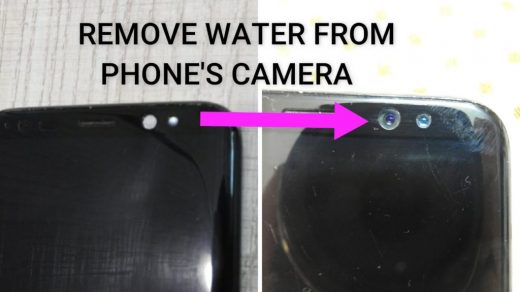 HOW GET WATER OUT OF YOUR FRONT CAMERA | CameraJar