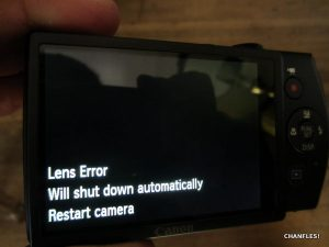 How to Fix a Lens Error on a Canon PowerShot 310 HS   CHANFLES!